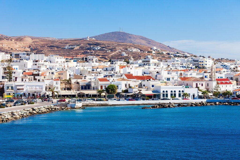 How to Get from Tinos to Naxos