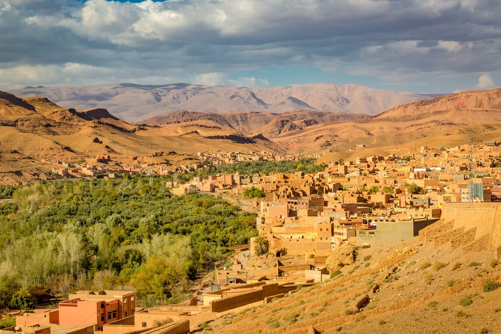 Boumalne Dades and the Dades Valley, Morocco