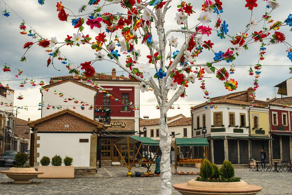 Old Bazaar in Korça