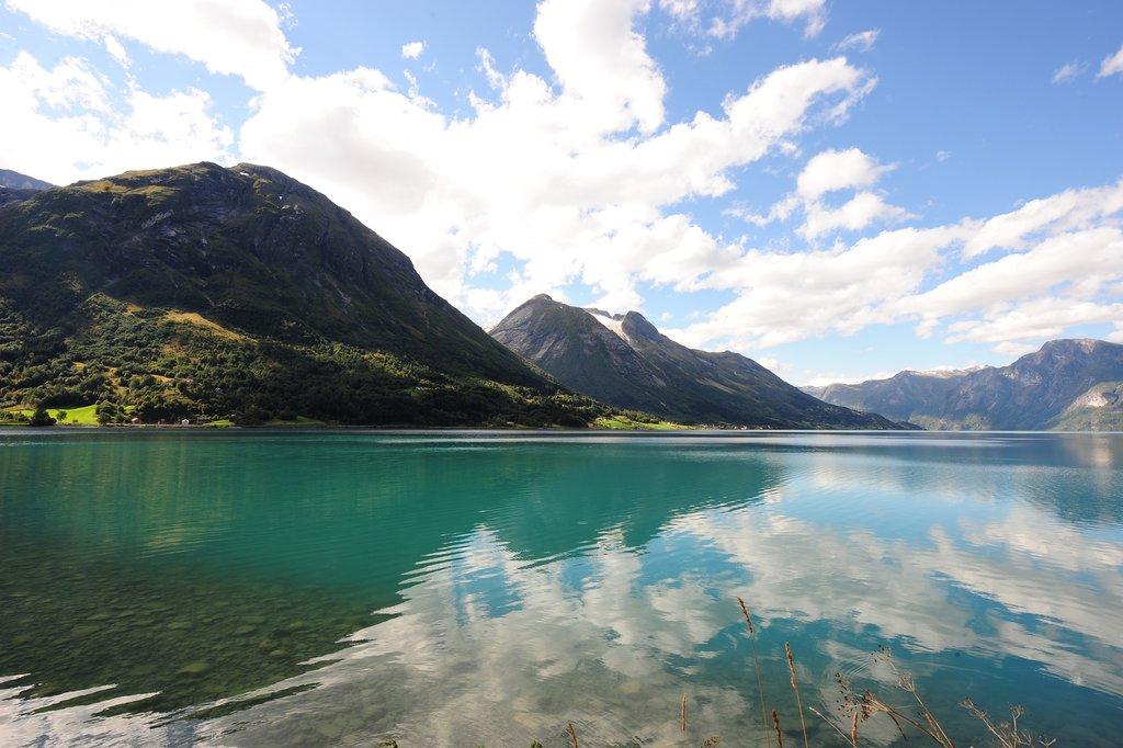 Hjelle's fjord-side setting