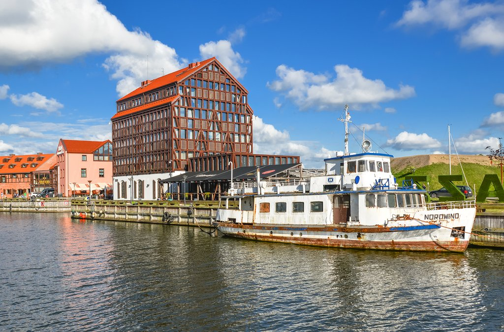The waterfront city of Klaipėda