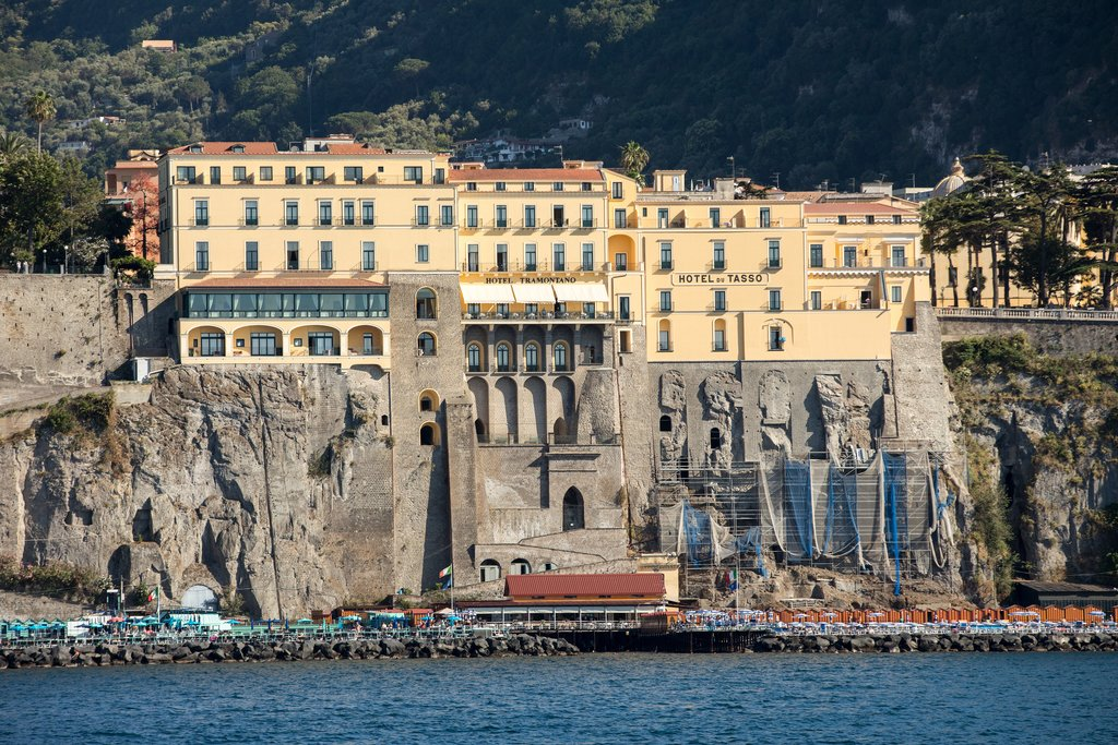Town of Sorrento, seen from the water