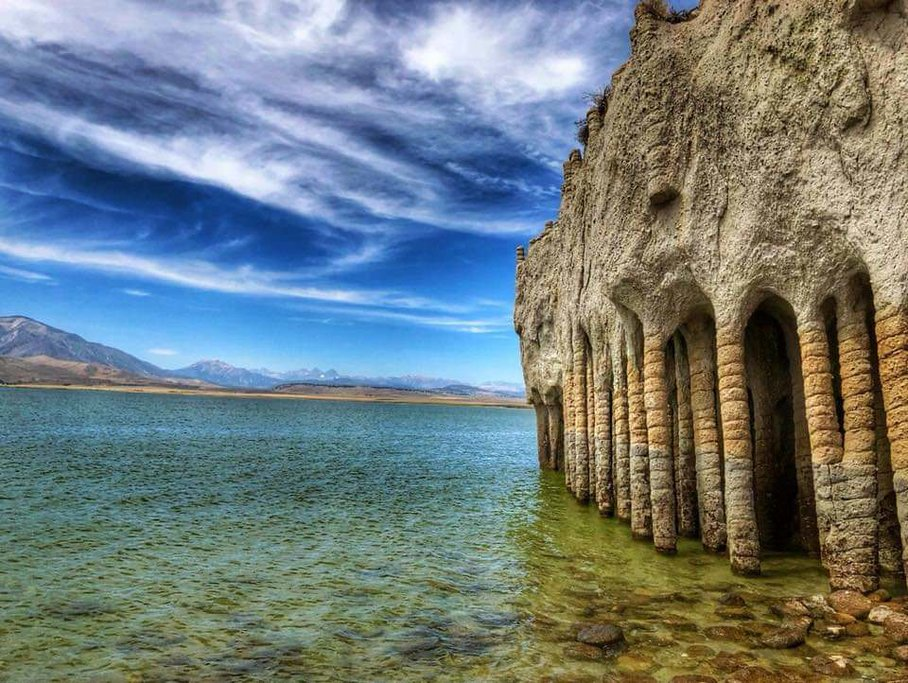 Crowley Lake Columns (Photos by Karen Olsen)