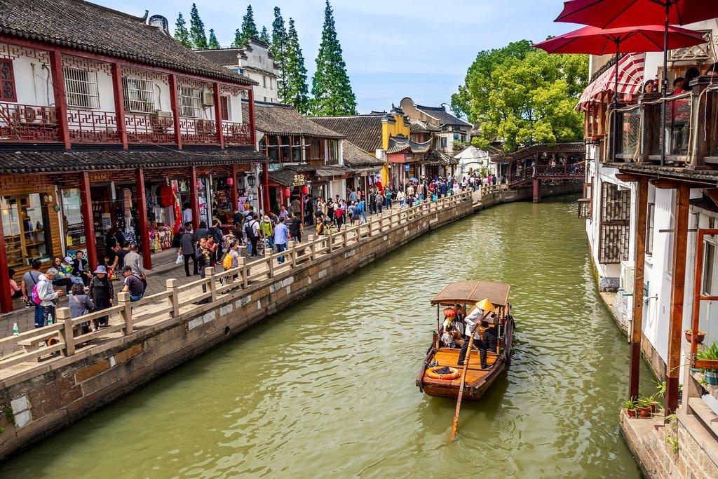 Zhujiajiao, the Venice of Shanghai