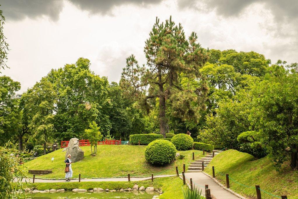A Japanese garden in Palermo
