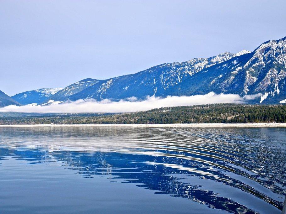 Ferry across Upper Arrow Lake
