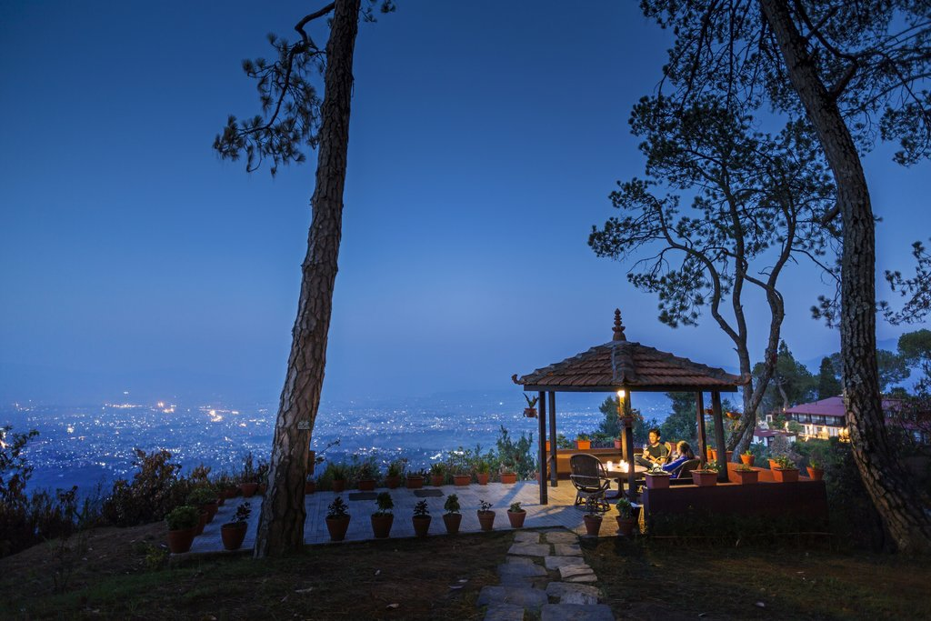 Views of Kathmandu from Hattiban Resort