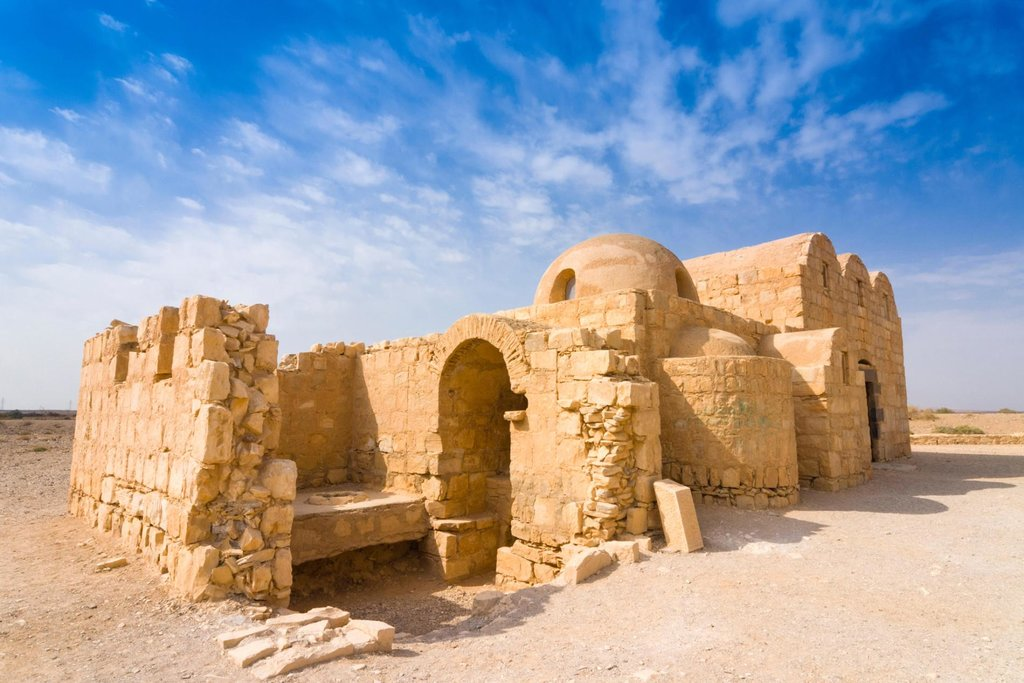 The desert castle, Qasr Amra