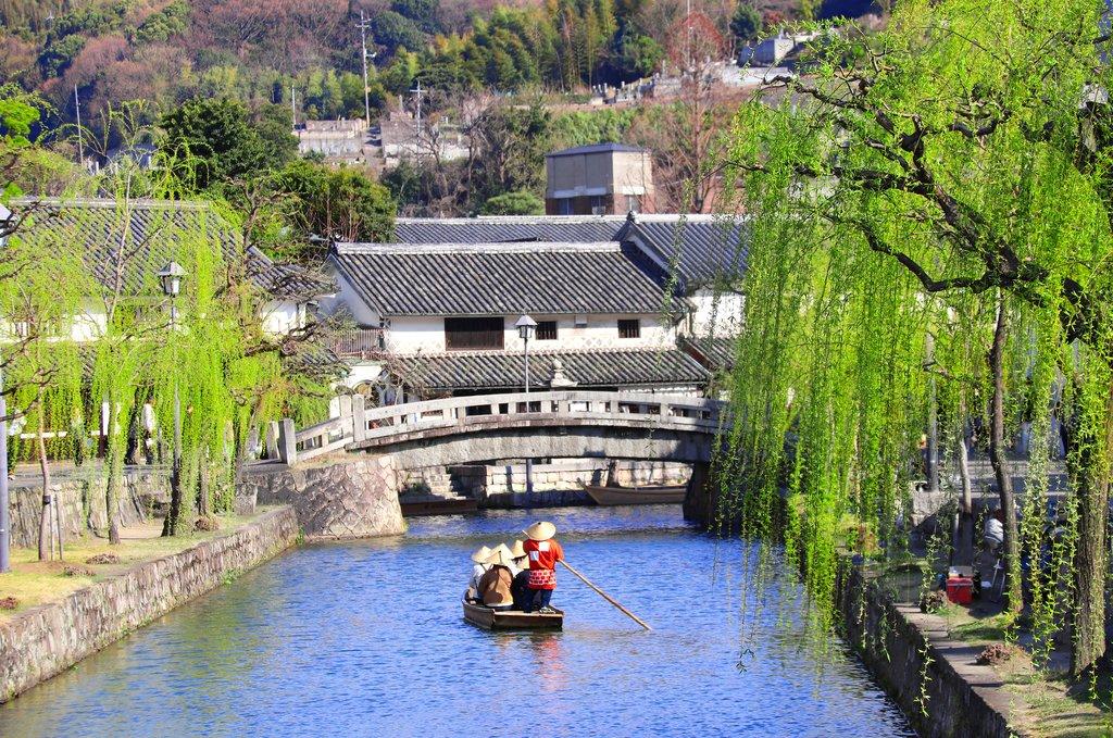 Canal in Kurashiki, Japan