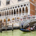 Waterfront and Doge's Palace, Venice, Italy