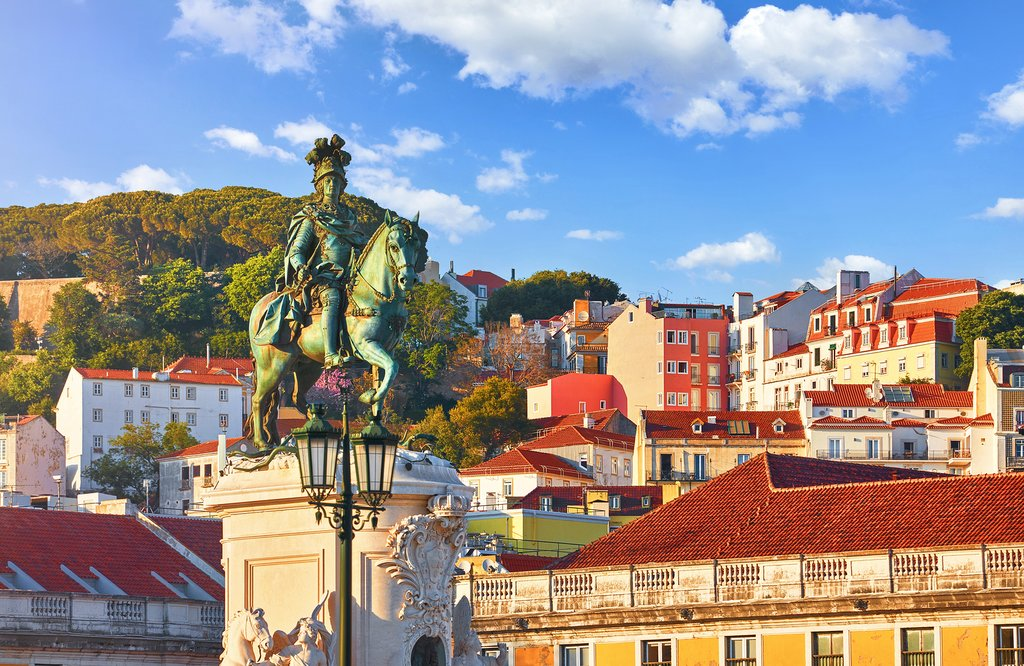 Lisbon's historic Alfama district