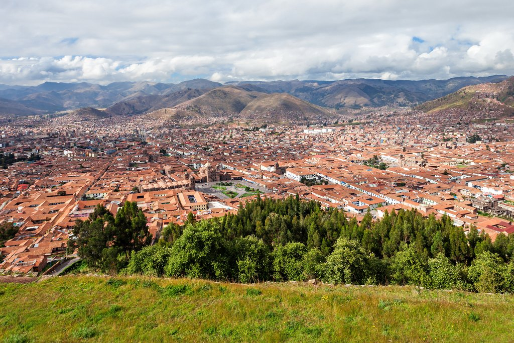Cusco's picturesque setting