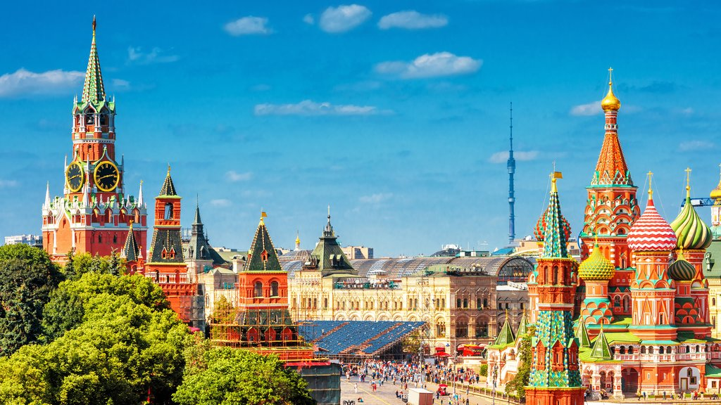 A world of color in Moscow's Red Square
