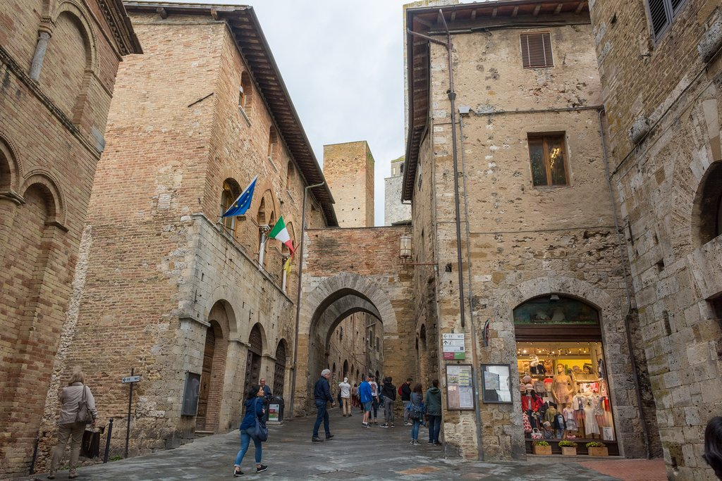 Medieval Center of Tuscany's Villages