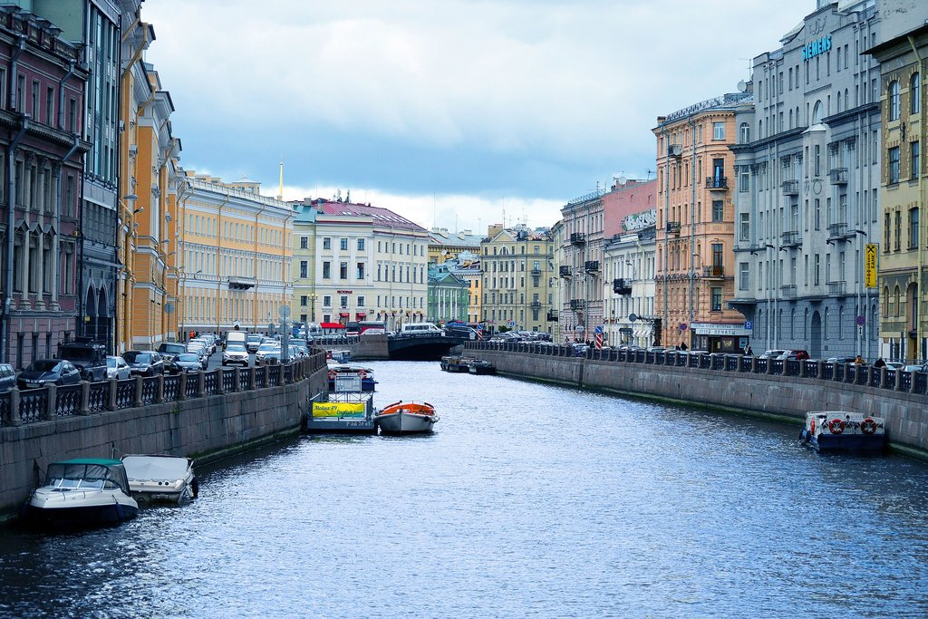 Griboedov canal, St. Petersburg