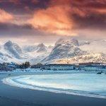 Sunset in the Lofoten Islands