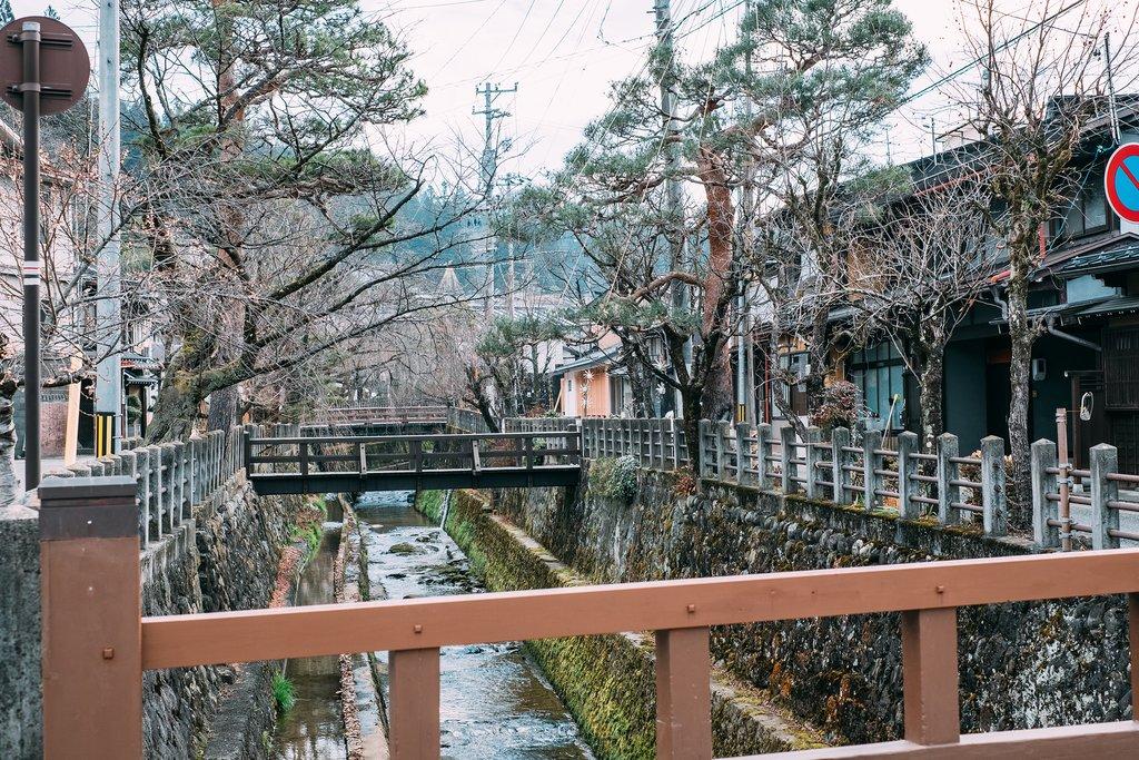 Takayama's atmospheric old town.