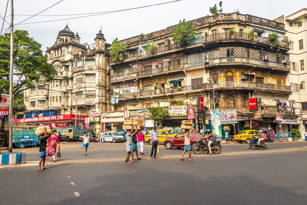 Kolkata lies at the crossroads between old and new India