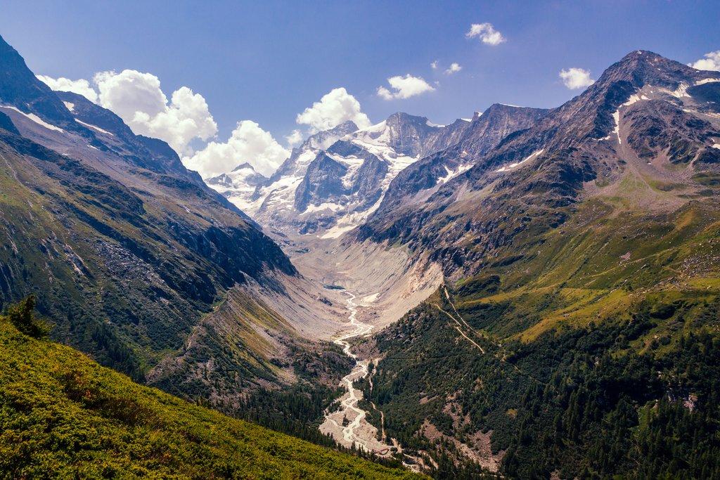 Pennine Alps near Val 'd Anniviers