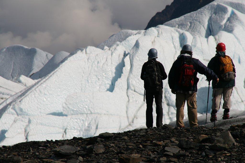 Guided hike on the Matanuska Glacier, Alaska