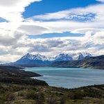 Lago Pehoé in Torres del Paine