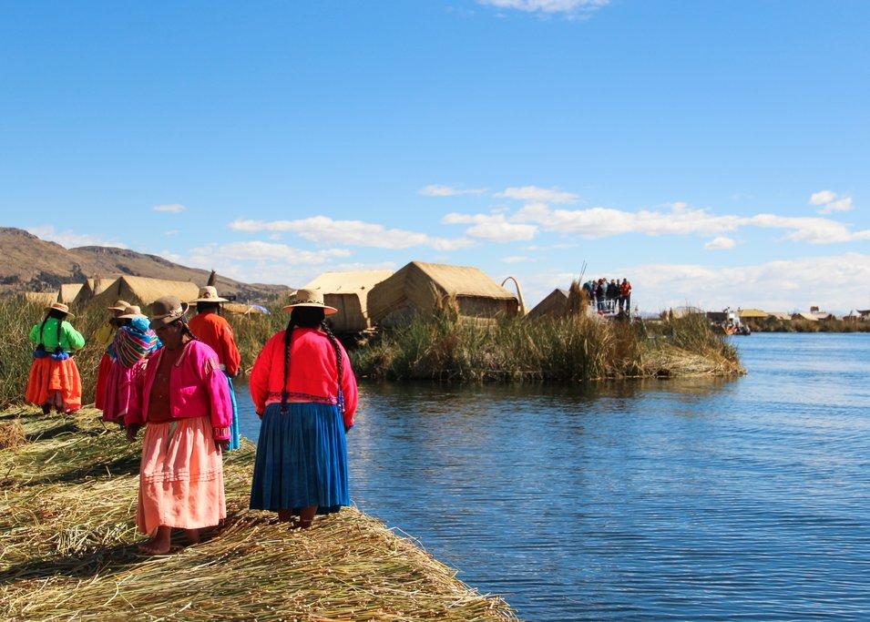 Uros reed islands
