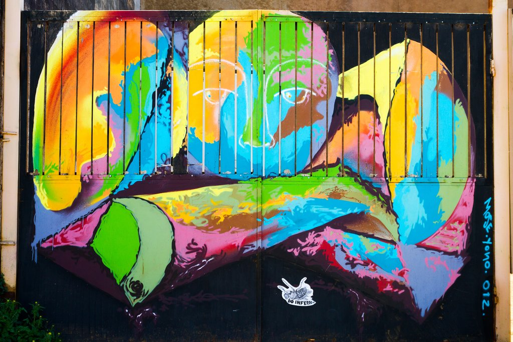 Check out street art in hilly Valparaiso