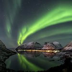 Northern Lights on a clear night in Senja