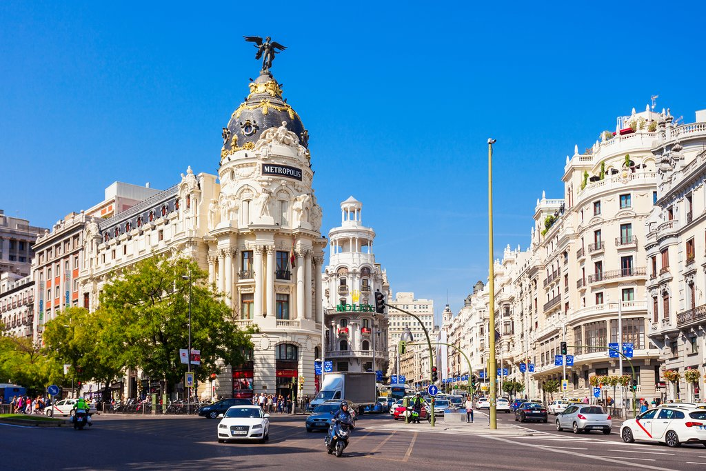 Perhaps head to Gran Vía to do some shopping