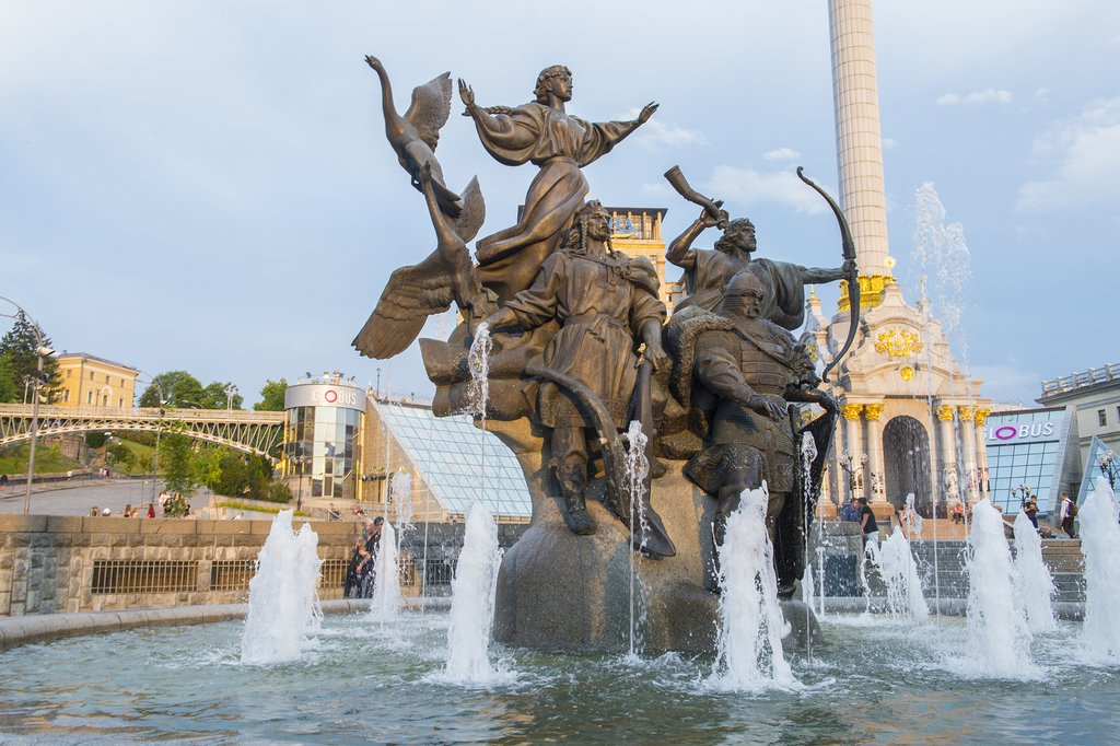 Kiev's Maidan Nezalezhnosti