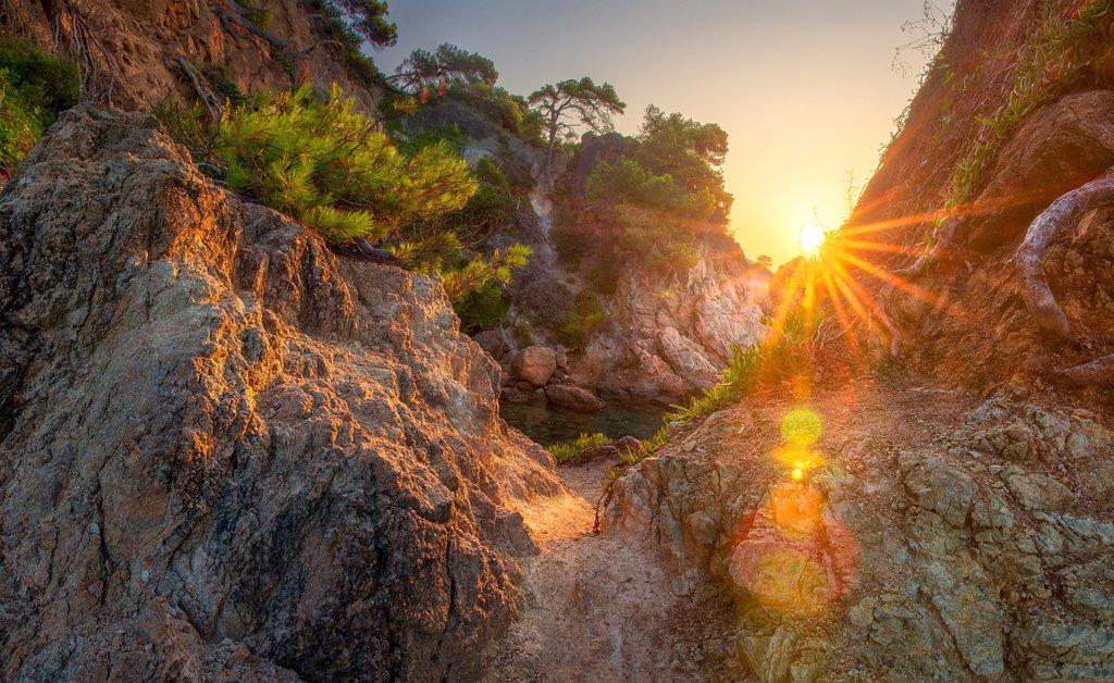 Sunrise in the Costa Brava