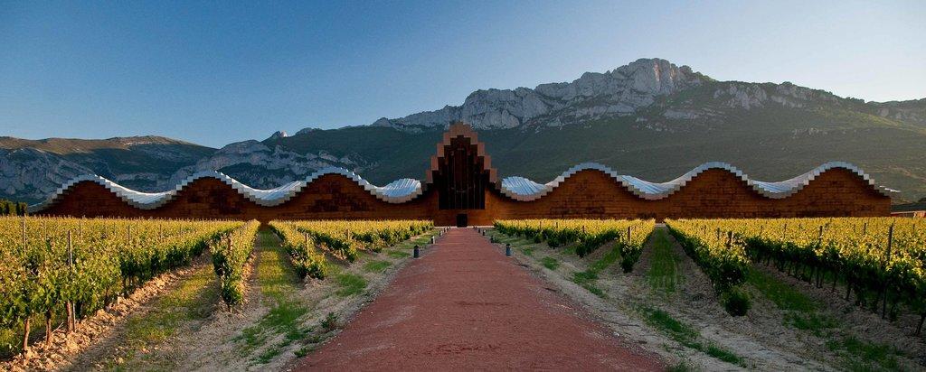 Bodega Ysios in La Rioja's wine region