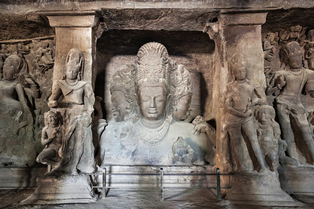 Take a boat trip over to the amazing Elephanta Caves