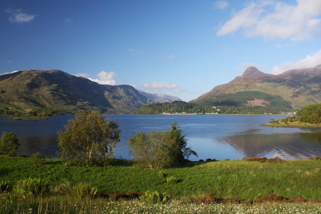 The shores of Loch Leven.