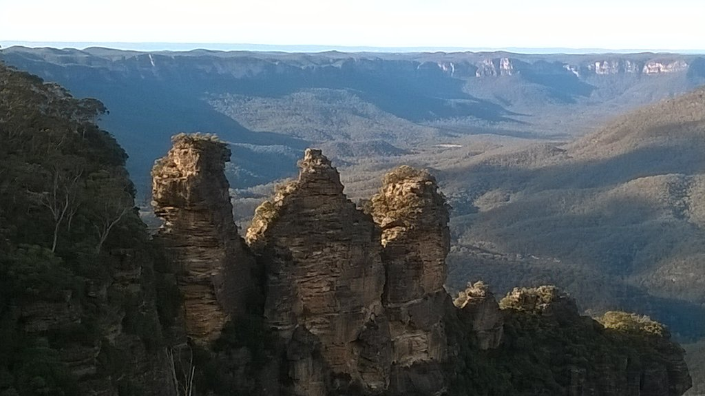 Le tre sorelle, Blue Mountains