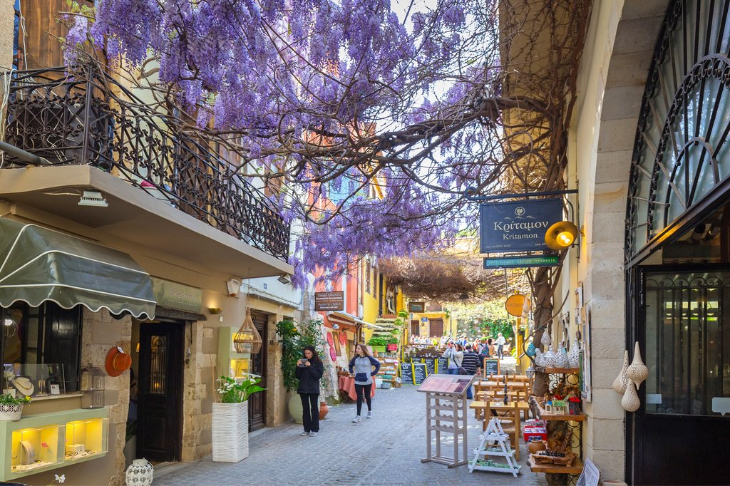 The Charming Streets of Chania