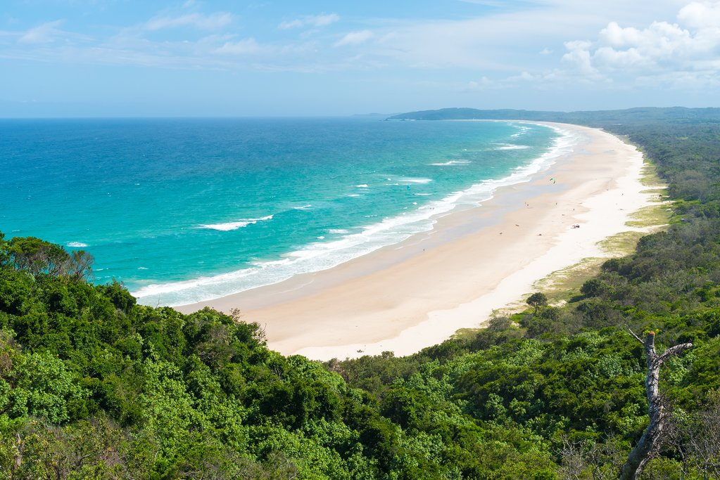 Tallow Beach, NSW, Australia