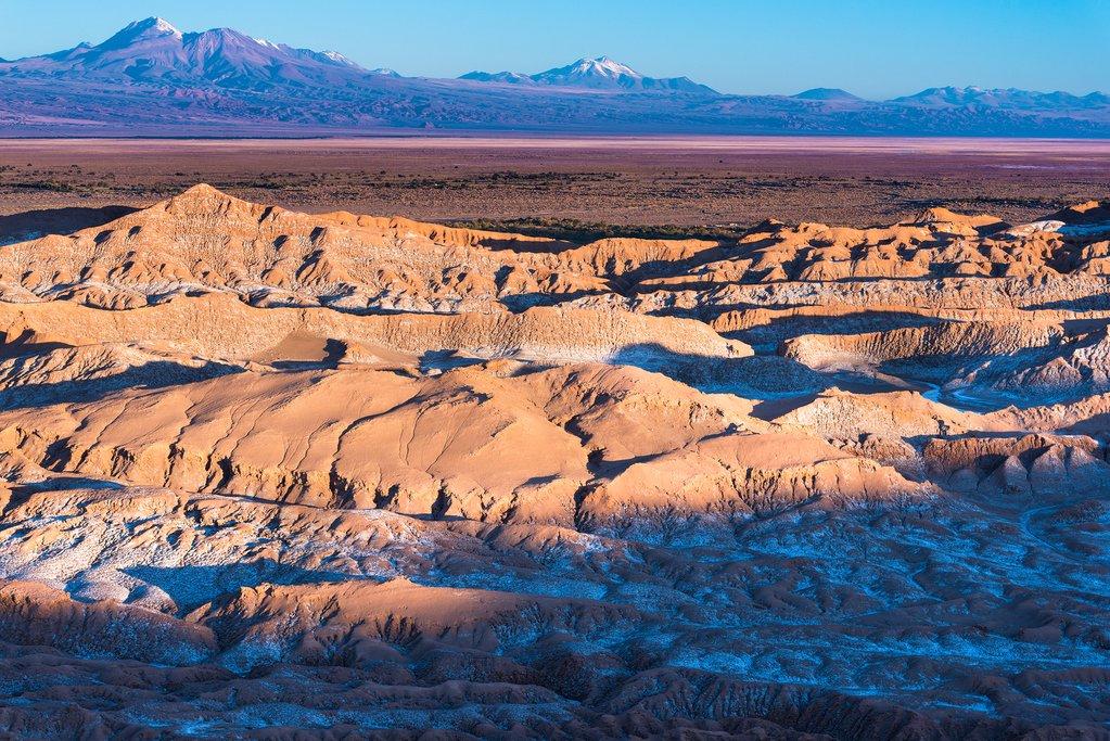 Valle de La Luna  in San Pedro de Atacama