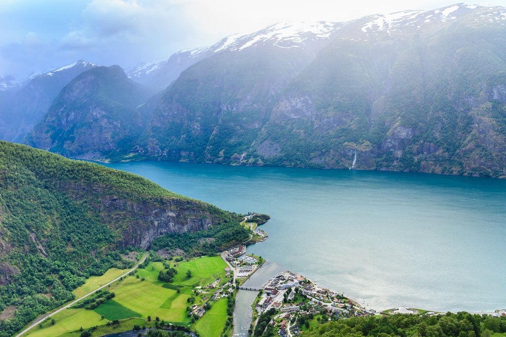 Relax and enjoy the Aurlandsfjord