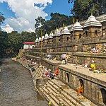 Pashupatinath Temple, along the banks of the Bagmati River