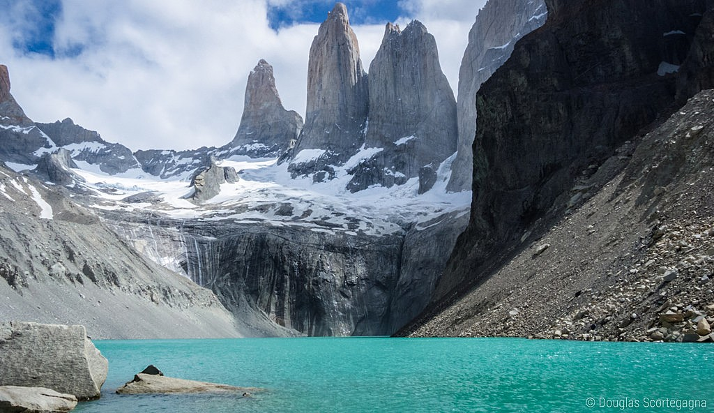 "The ""horns of Paine,"" at Torres del Paine"