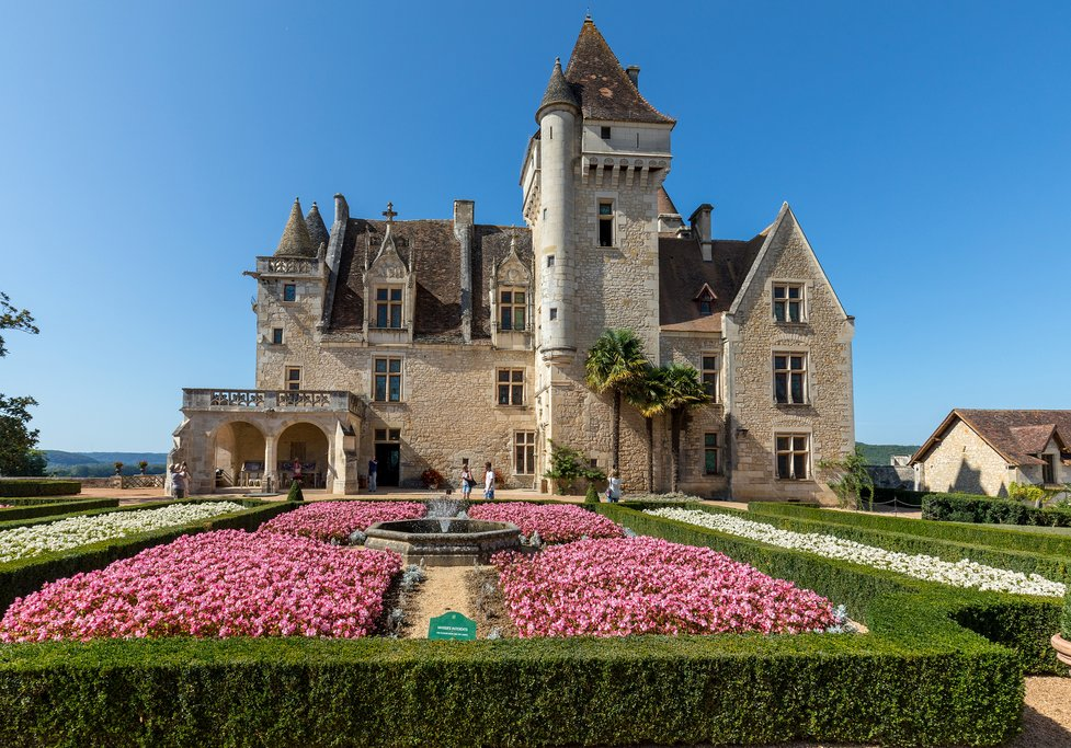 Chateau des Milandes, a castle in the Dordogne
