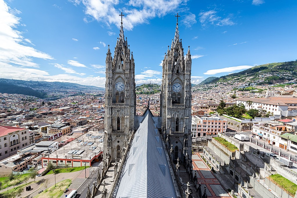Quito's historical center