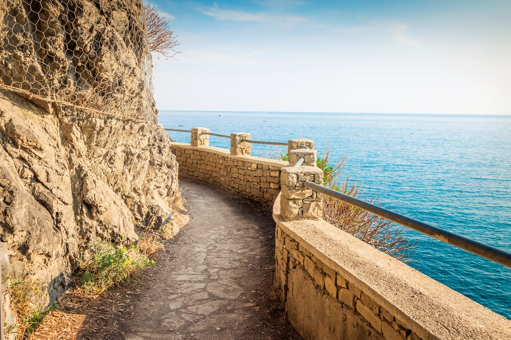 Pathway along the sea