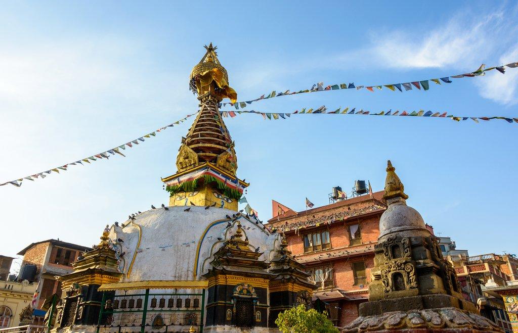 Kathesimbhu Stupa. Kathmandu