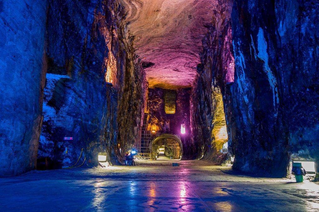 The Underground Salt Cathedral of Zipaquirá