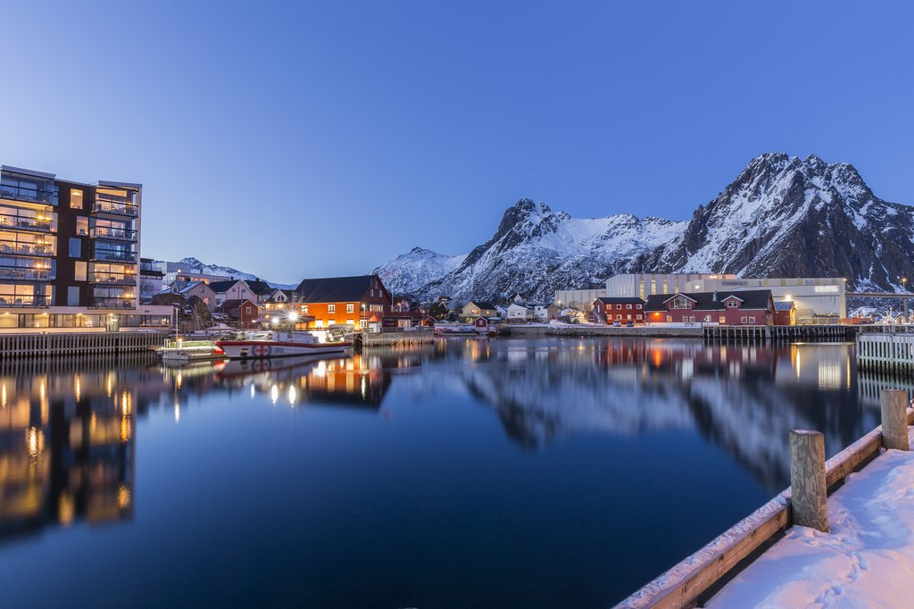 Arrive in Svolvær, your first stop in the Lofoten islands
