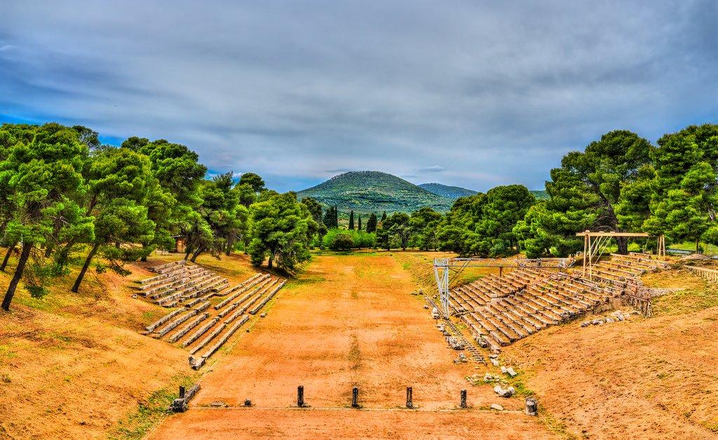 Ancient stadium of Epidavros