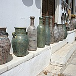 Traditional pottery in Apiranthos