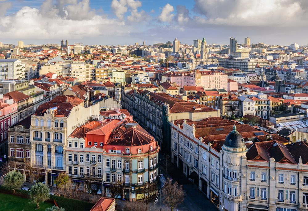Aerial Views of Porto